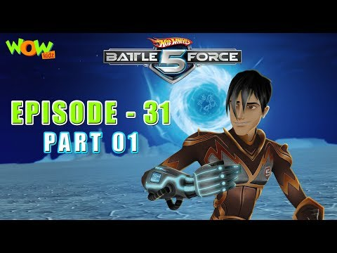 Motu Patlu presents Hot Wheels Battle Force 5 - The Power of  Resistance - S2 E31.P1 - in Hindi
