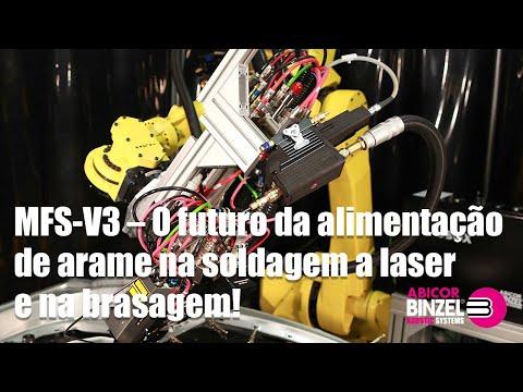 MFS-V3 – O futuro da alimentação de arame na soldagem a laser e na brasagem!