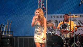 House Of The Rising Sun - Haley Reinhart at Spring Fling, Ft. Myers FL 5/19/12