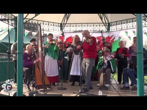 National St David's Day Parade 2014: Cardiff Castle Entertainment