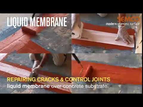 Liquid Membrane Crack Repair