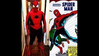Steve Ditko Spider Man Suit UNBOXING