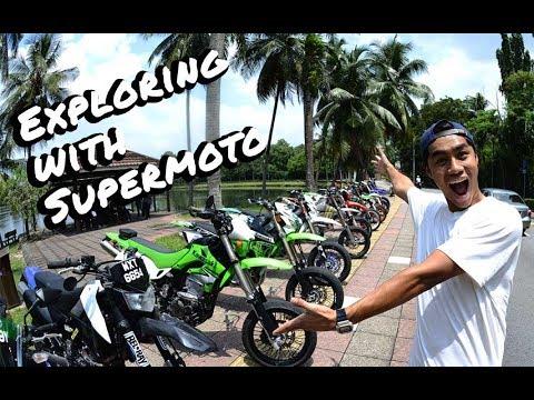 Exploring Kuala Lumpur with Supermoto!