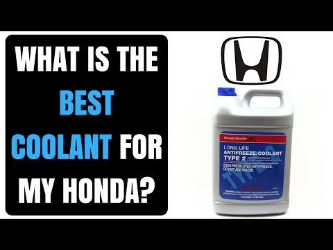 What is the best antifreeze coolant for my honda?