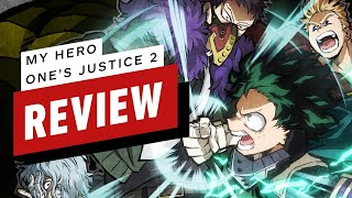 My Hero One's Justice 2 Review (Video Game Video Review)