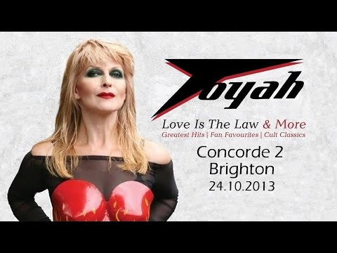 TOYAH BRIGHTON 24.10.2013 LOVE IS THE LAW AND MORE TOUR