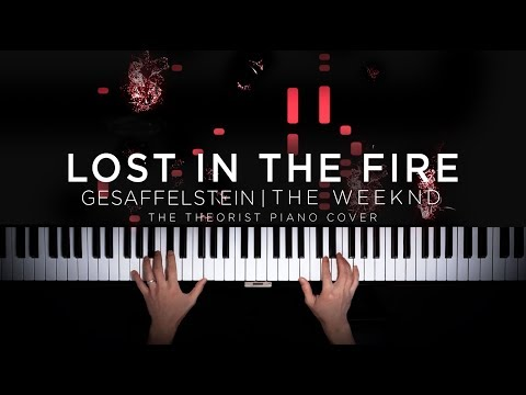 Gesaffelstein & The Weeknd - Lost In The Fire | The Theorist Piano Cover