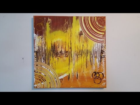 """Abstract Painting Art Demo - """"Sound Vision"""" Embrace The Matrix"""