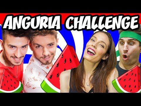 ANGURIA CHALLENGE #2 🍉 ft. LaSabriGamer & Anima | Matt & Bise