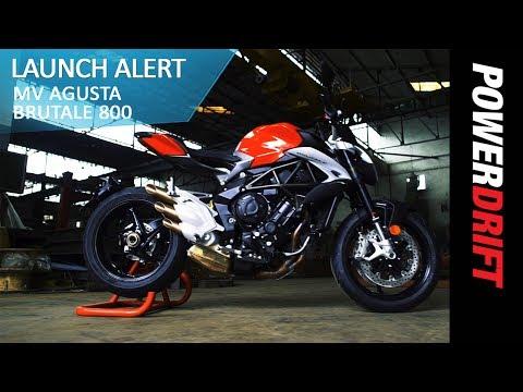 2017 MV Agusta Brutale 800 : Launch Alert : PowerDrift
