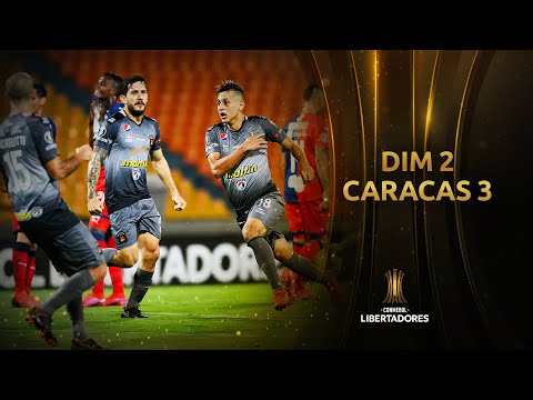 DIM vs. Caracas [2-3] | RESUMEN | Fase de Grupos | Jornada 3 | CONMEBOL Libertadores 2020