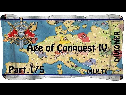 Age Of Conquest IV | PL | - Polska&Litwa [ III Wojna Światowa ] Mulitpayer | Z Outsider | Part.1/5