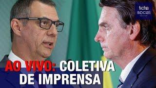 AO VIVO: COLETIVA DE IMPRENSA DO GOVERNO BOLSONARO - PORTA-VOZ, GENERAL RÊGO BARROS