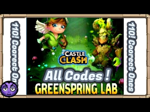 Castle Clash: New F2P Event GreenSpring Lab | All Codes!