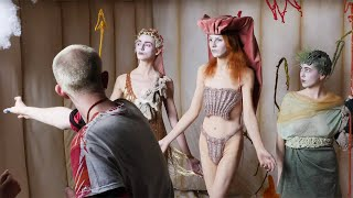 Working with Tim Walker: stylists