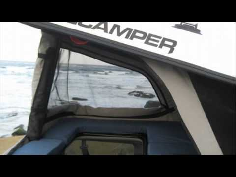 honda element camper - YouTube