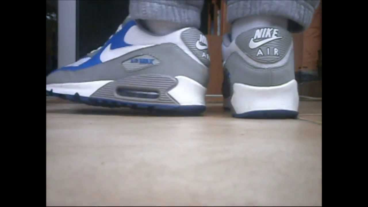 sweaty smelly nike airmax 90 with nice socks youtube. Black Bedroom Furniture Sets. Home Design Ideas