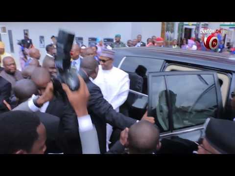 President Muhammadu Buhari Visits Lagos