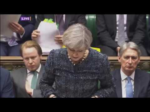 Prime Minister's Question Time • 22nd March 2017