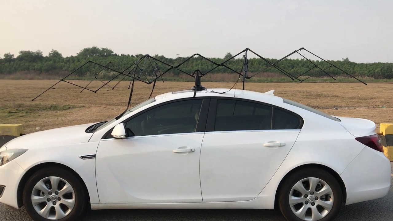 Working Principle of Car Umbrella--Patented Design - YouTube