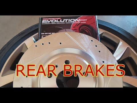 How to replace rear brake pads and rotors on 2012-2017 Audi A6 3.0T (C7 4G) – DIY