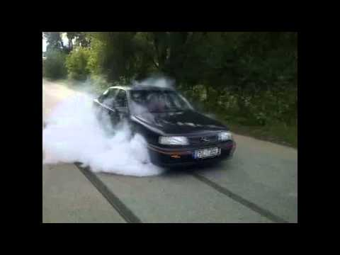Opel Vectra A GT C20ne Burnout