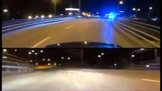 Polis Kejar Mercedes C63 AMG