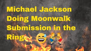 Funny Videos | Michael Jackson does moonwalk Submission in the Ring Wrestling