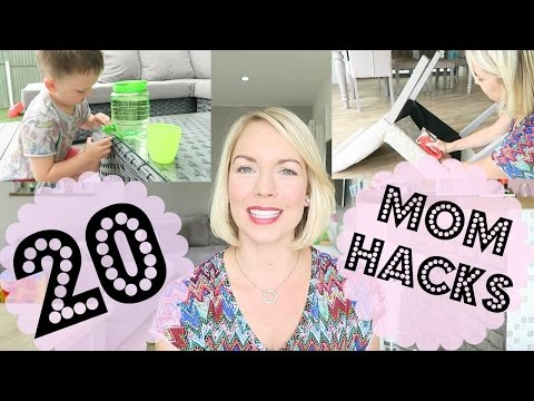 20 MOM HACKS |  LIFE HACKS |  EMILY NORRIS