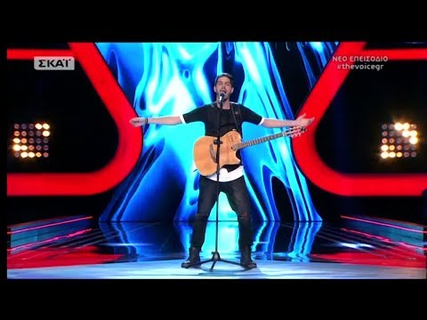The Voice of Greece 4 - Blind Audition - SAN STAR TOY CINEMA - Tasos Georgoudios