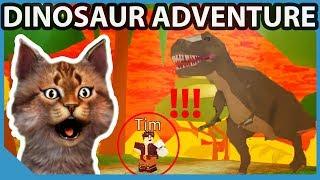 New Dinosaur Extinction Map - Roblox Time Travel Adventures