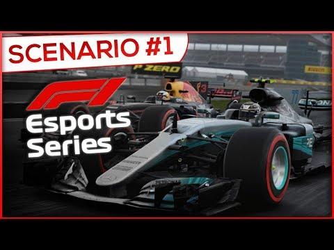 TOP 100 F1 ESPORTS ?! SCENARIO 1 - F1 2017 (FR)