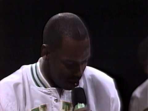 Larry Bird Retirement 1993 Part 5   Cedric Maxwell