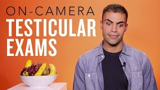 Repeat youtube video 7 Guys Perform a Testicular Self-Exam On Camera (SFW)
