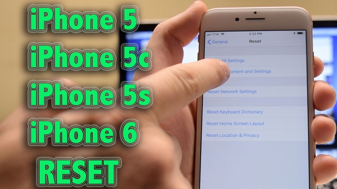 Hard Reset - How to reset and erase iPhone 22c, 22, SE 22 and 22 Plus (Recovery  Mode)