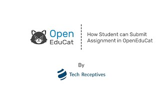 How Student can submit Assignment in OpenEduCat
