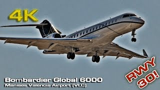 Bombardier Global 6000  Private Jet (Valencia) N203JE thumbnail