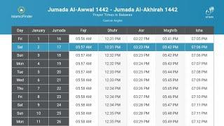 Namaz time table in India 2021 l Full details Namaz time table 2021 l screenshot 4