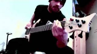 "G-rom - korn ""ball tongue"" bass cover !!!"