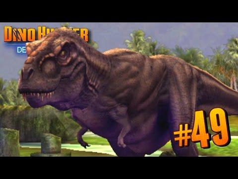 T.REX RETURNS!!! - Dino Hunter: Deadly Shores EP: 49 HD