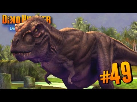 T.REX RETURNS!!! - Dino Hunter: Deadly Shores EP: 49 HD