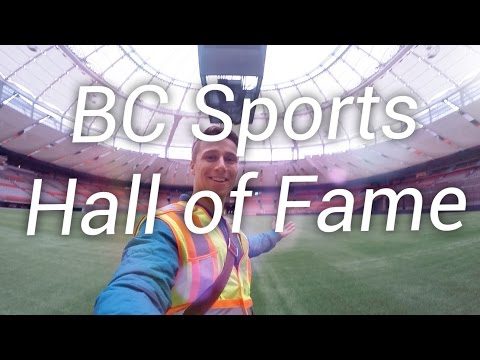 BC Sports Hall of Fame & Stadium Tour - Vancouver 2017