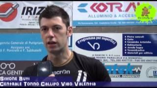24-03-2013: Intervista a Simone Buti nel post NewMater-Vibo 1-3