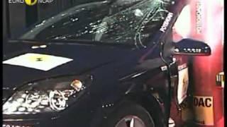 Краш тест Opel Astra 2004 (E-NCAP ADAC)