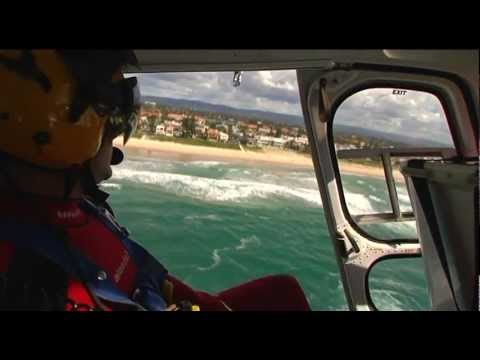 Life Saver 5 Helicopter ride along