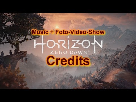 Horizon Zero Dawn | Credits | Music Game Soundtrack | Foto-Video-Show | 1080p