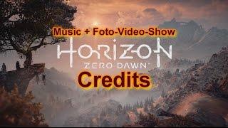 Horizon Zero Dawn | Credits | Music Game Soundtrack | Foto-Video-Show | 1080p