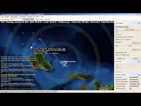 COMMAND Episode 1 Part 2 Submarine Tutorial - Command: Modern Air/Naval Operations