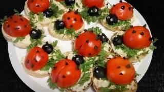 #Салат Божья коровка . Ladybug. Красивый и вкусный Новогодний салат.