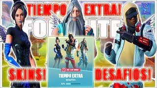 FORTNITE: NEW EXTRA TIME SKINS! WITH SUBS! CHALLENGES AND MUCH MORE!